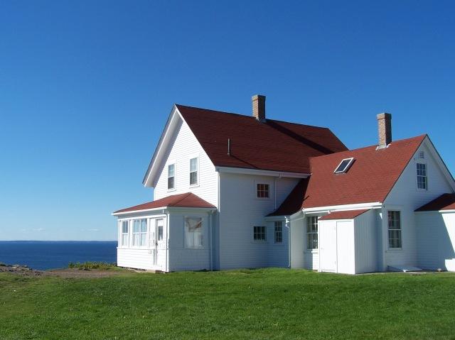 The Light Keepers House – Monhegan, Maine… – ArtFoodHome.com on history house, hamster house, pet shop house, hunting island light keeper house, first light house, photography house, dog kennel house,