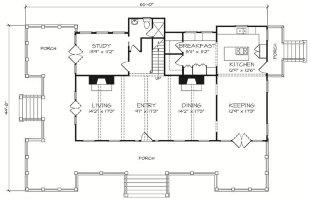Carolina Island House by Our Town Plans ArtFoodHomecom