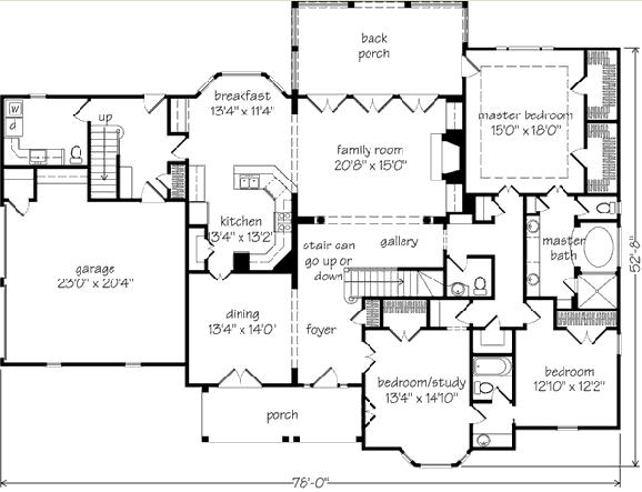 New Wyntuck (572) house plan by John Tee plan