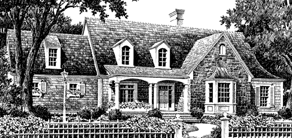 New Wyntuck (572) house plan by John Tee