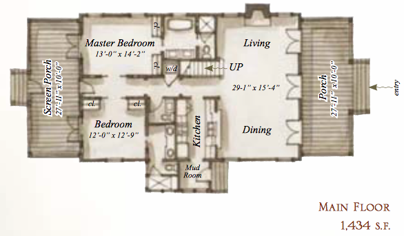House plans for Our town house plans