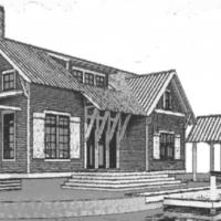 Thaxton Residence House Plan by Lake and Land Studio!