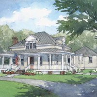 The American Farmhouse Plan by Mitch Ginn & Associates!