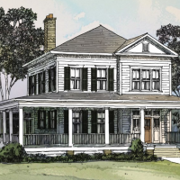 The New Park View House Plan (SL1826) by Our Town Plans!