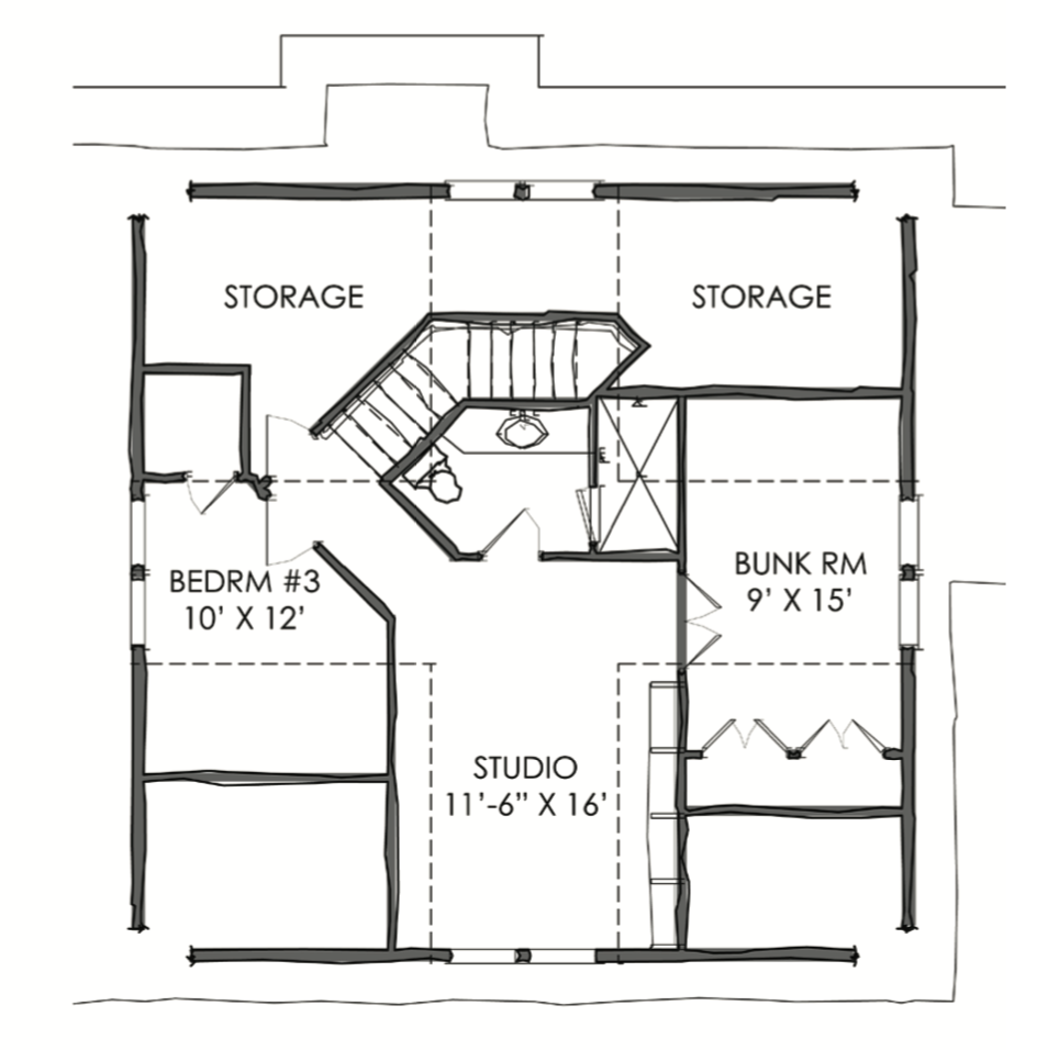 the tnh lc 39a house plan by moser design group
