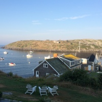 From the Archives: View from the Island Inn - Monhegan, ME!