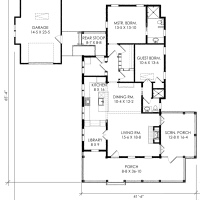 The Woodward House Plan by Moser Design Group!
