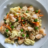 Throwback Recipe: SHRIMP FRIED RICE!