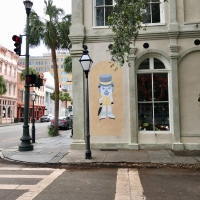 "The ""Hat Man"" Building - Charleston, SC"