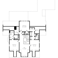 Champion Hall House Plan by Mitch Ginn!