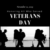 Honoring Our Veterans...