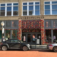 Anthropologie During the Holidays | Charleston, SC