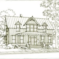 The Linville House Plan (SL1958) by Our Town Plans (A Southern Living Plan!)