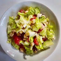 Mediterranean Chopped Salad by America's Test Kitchen!