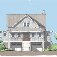 Sanctuary Cove Home Plan by Flatfish Island Designs!