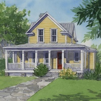 Sweetbay Cottage House Plan by Mitch Ginn!