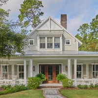 Lowcountry Farmhouse Plan by Court Atkins Group for Southern Living!