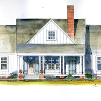 Magnolia Cottage House Plan by John Tee for Southern Living!