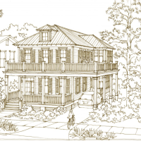 24 Ocean Springs Boulevard by Our Town Plans!