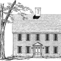 The Farmington Saltbox House Plan by Classic Colonial Homes!