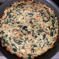 Spinach, Feta & Rice Casserole