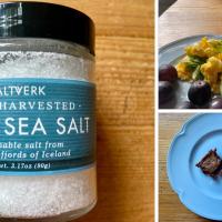 Saltverk Hand Harvested Flaky Sea Salt!
